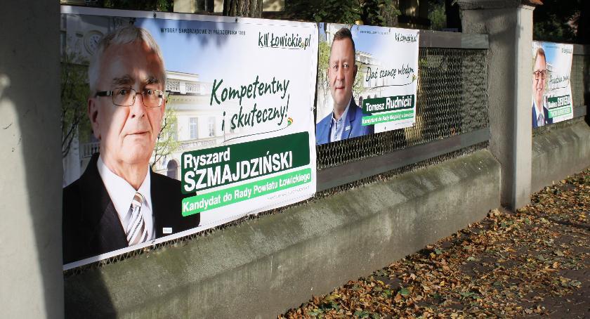 Kampania Wyborcza W łowiczu Czy Plakaty Mogą Wisieć W