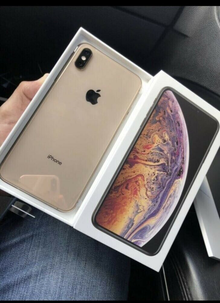 Zdjęcie Apple iPhone XS Max - All GB - Gold (Factory Unlocked CDMA+GSM) Sealed Elektronika / AGD Łowicz